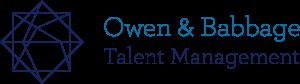 Owen & Babbage Talent Management - Logo